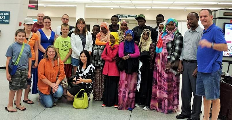 Somali family of 11 - July 31, 2015